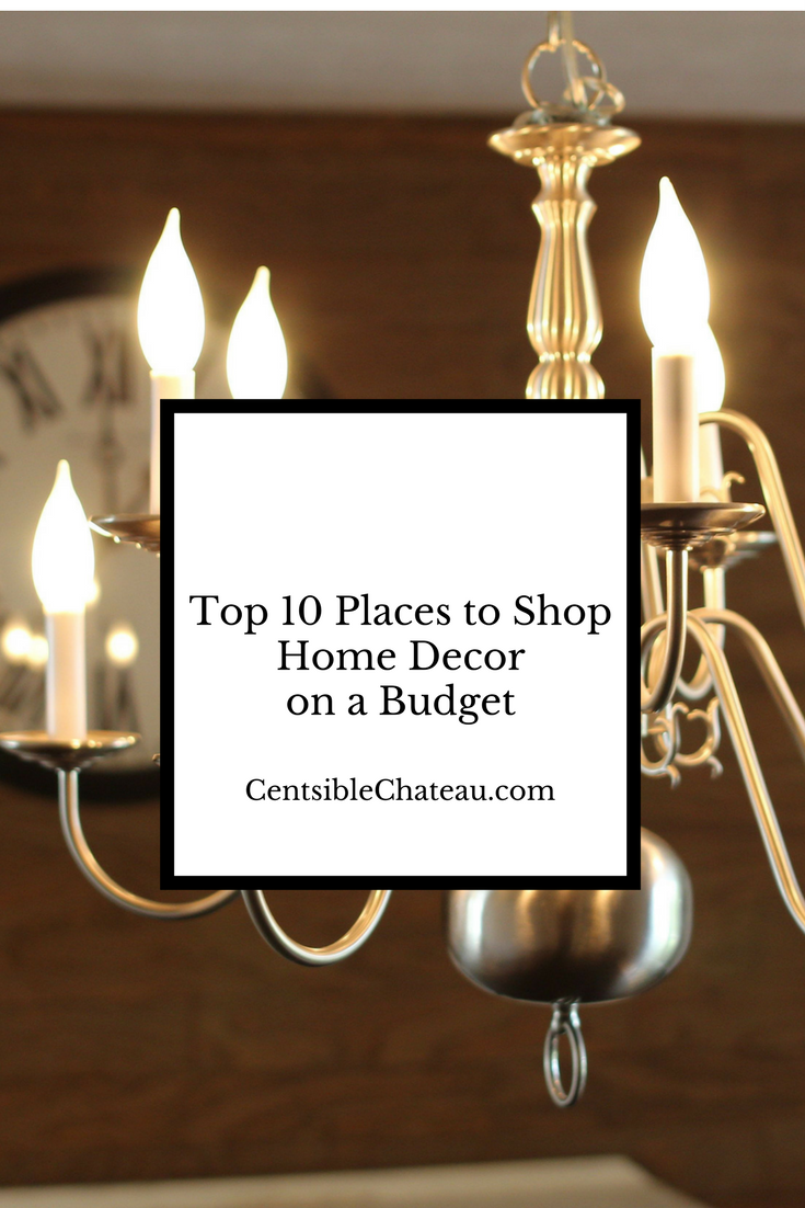 top ten places to shop for home decor on a budget 2 33 places to shop for home decor online that you ll wish
