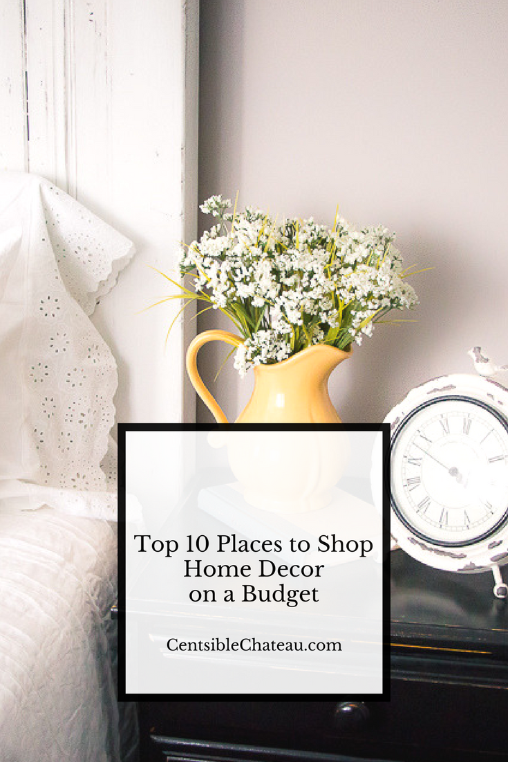 top ten places to shop for home decor on a budget 3 6 places to shop for home d 233 cor on a budget